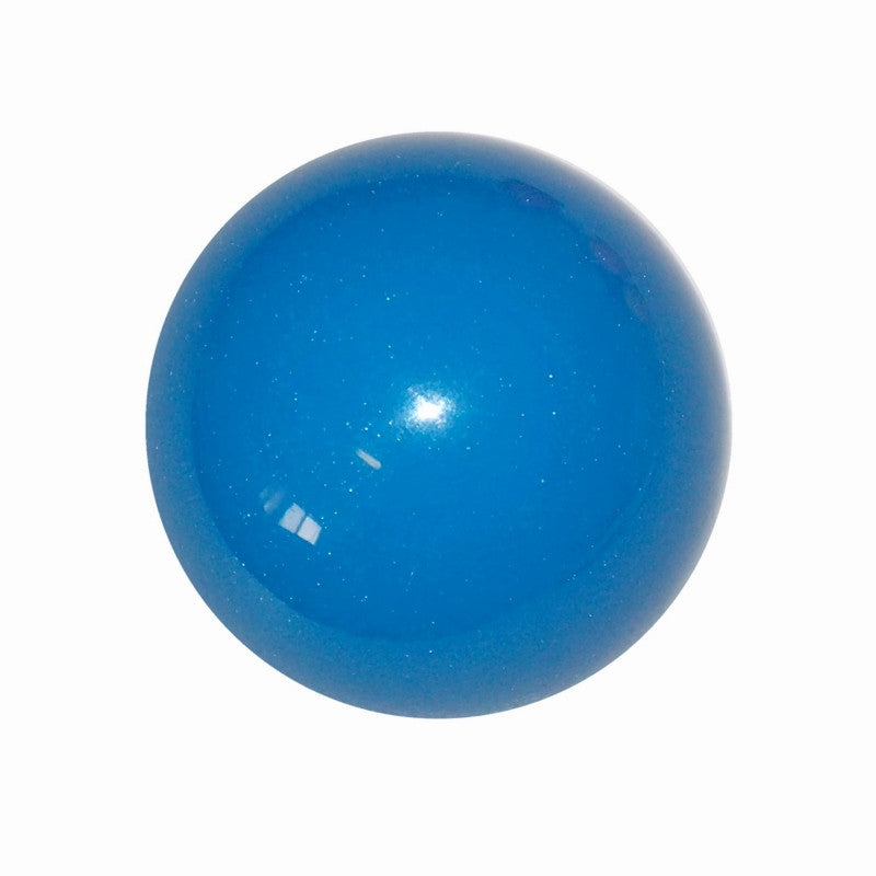"1-7/8"" Metallic Medium Blue Shift Knob"
