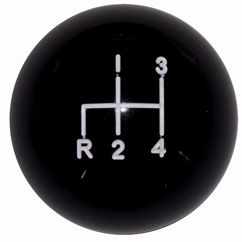 Black 4 spd Reverse Down Left Shift Knob
