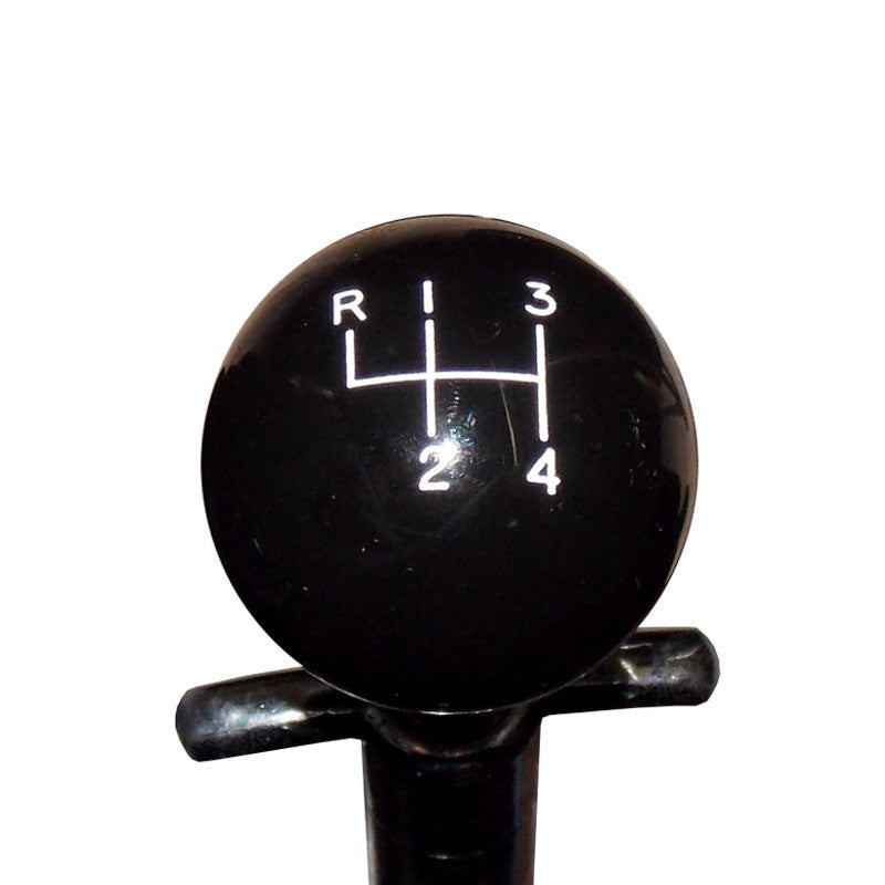 1-7/8 Black Muncie 4 Speed Pattern Shift Knob