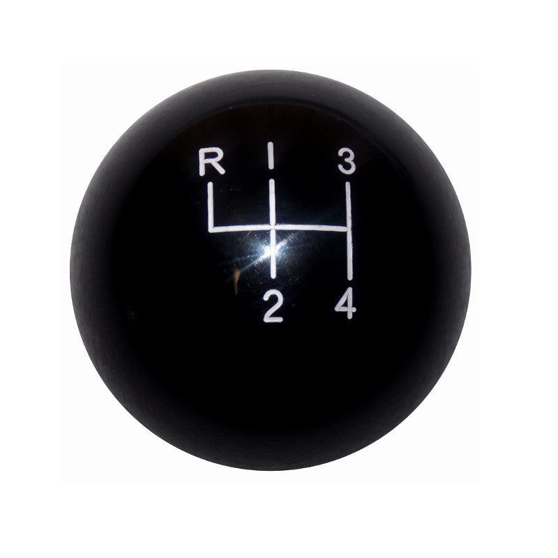 "1-7/8"" Black 4 Speed Shift Knob"