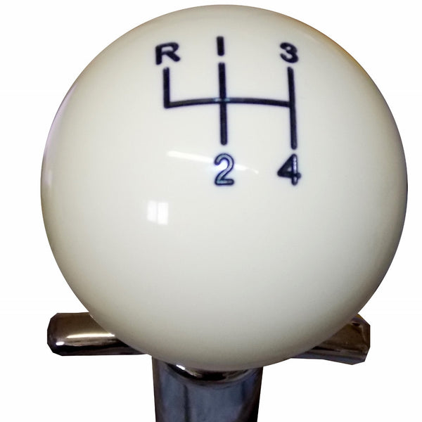 Ivory Muncie 4 Speed Pattern Shift Knob