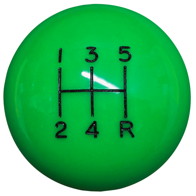 image of Synergy Green 5 speed Shift Knob