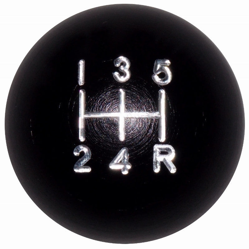 Black Aluminum 5 Speed Knob