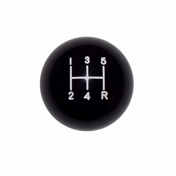 "1-7/8"" Black 5 Speed Shift Knob"