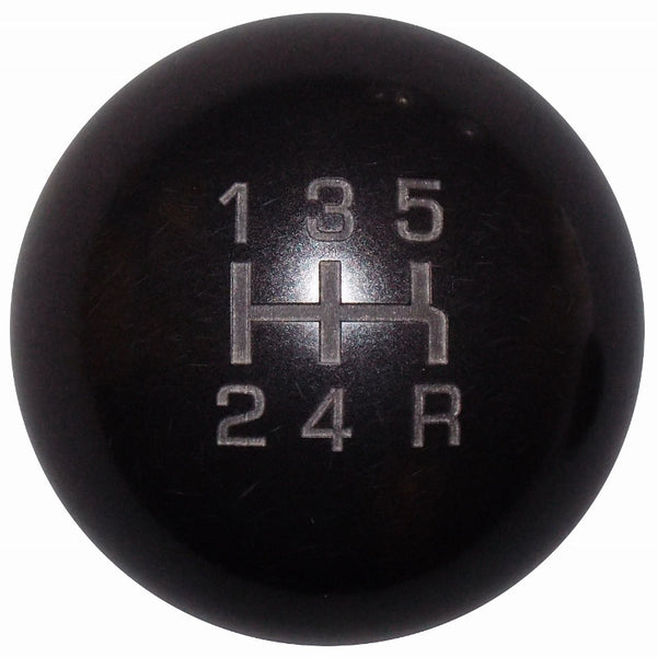 Heavy Weight Composite Black 5 Speed Shift Knob
