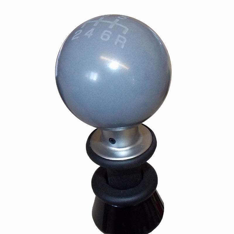 Gray Heavy Weight Composite Subaru 6 Speed Pattern Shift Knob