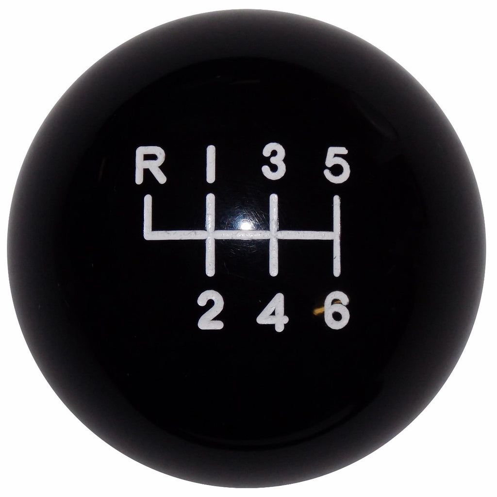 2015- 17 Mustang Black 6 Speed Shift Knob