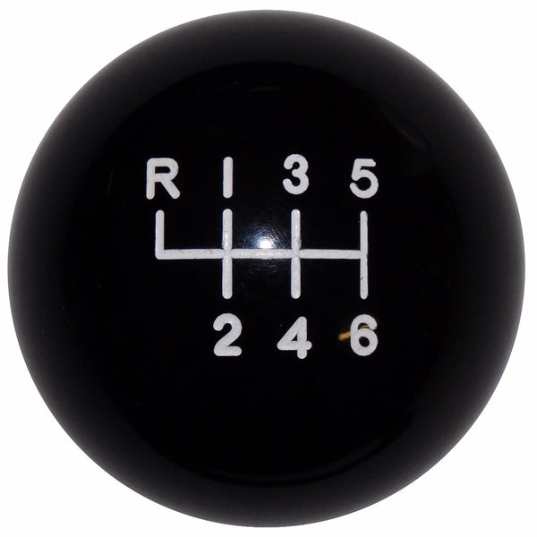 2015-17 Mustang Black 6 Speed Shift Knob
