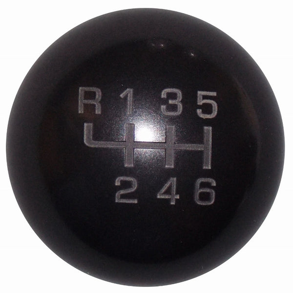 Heavy Weight Composite Black New 6 Speed Shift Knob