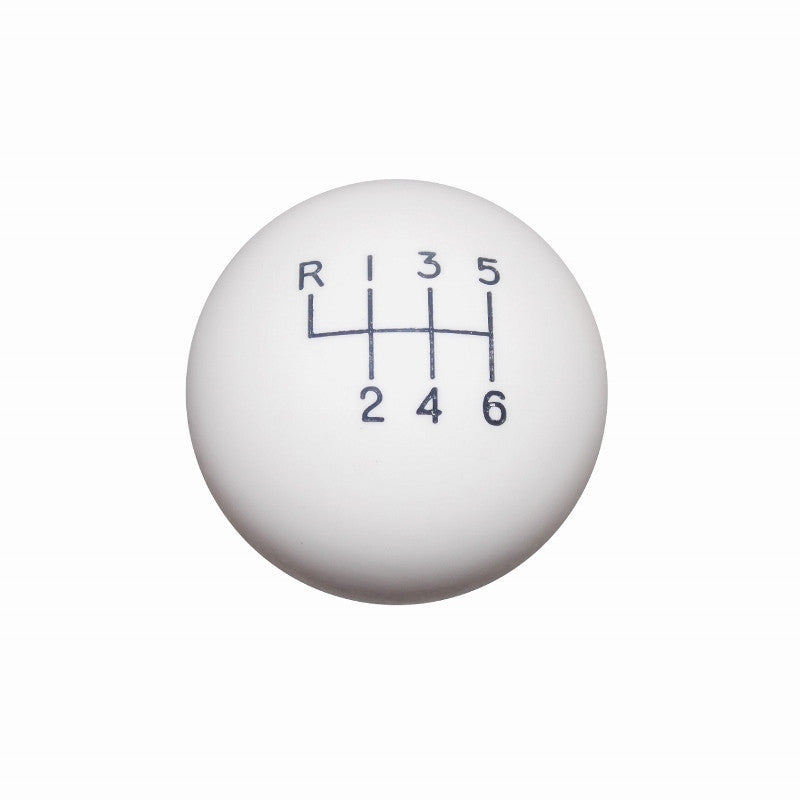 "1-7/8"" White New 6 Speed Shift Knob"