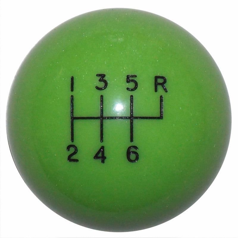 Gotta Have It Green 6 Speed Shift Knob