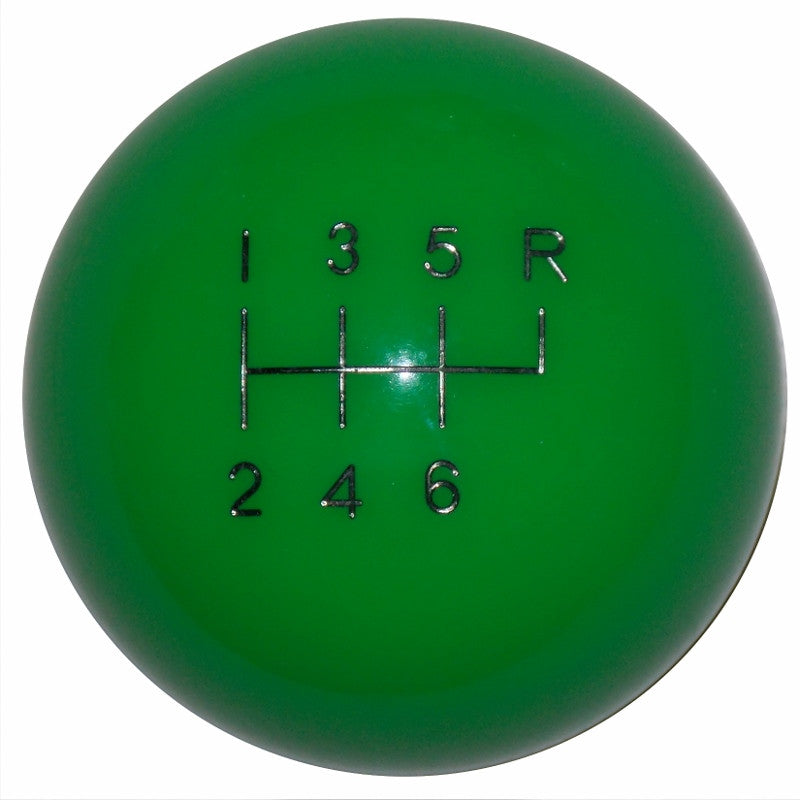 Synergy Green 6 Speed Shift Knob