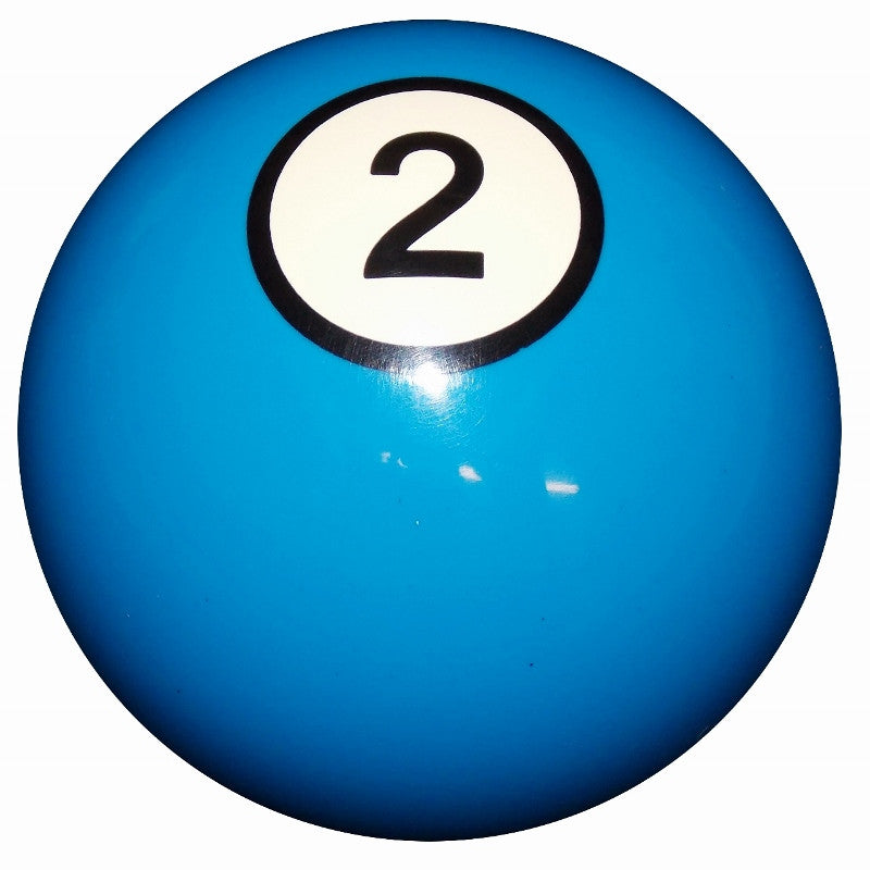 2 Ball Blue Billiard Brake Knob