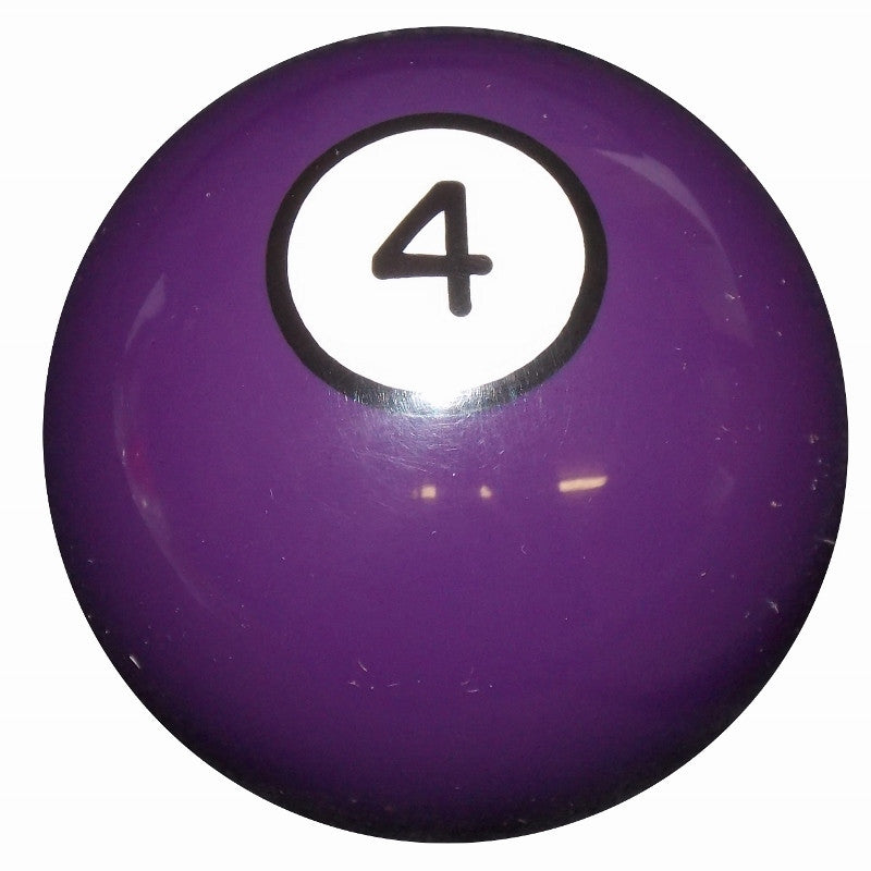 4 Ball Purple Billiard Brake Knob