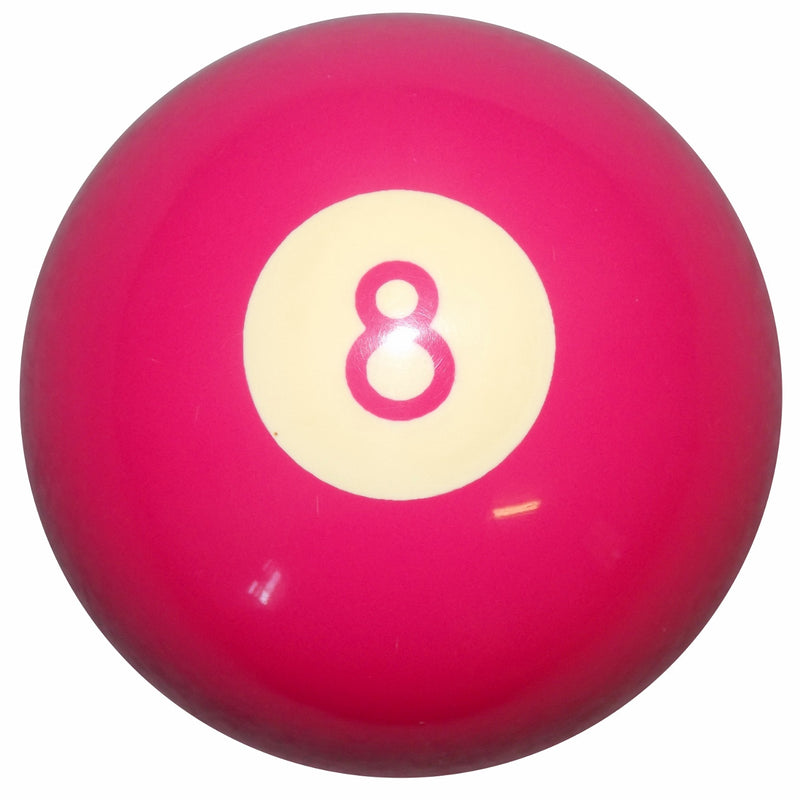 Hot Pink 8 Ball Shift Knob