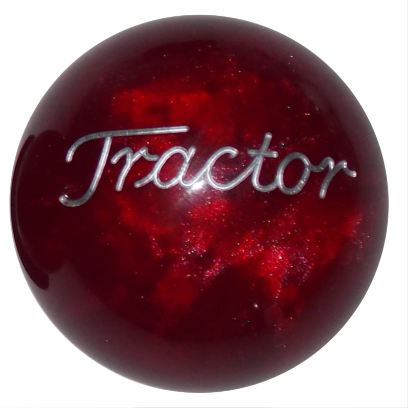 Pearl Red Tractor Brake Knob