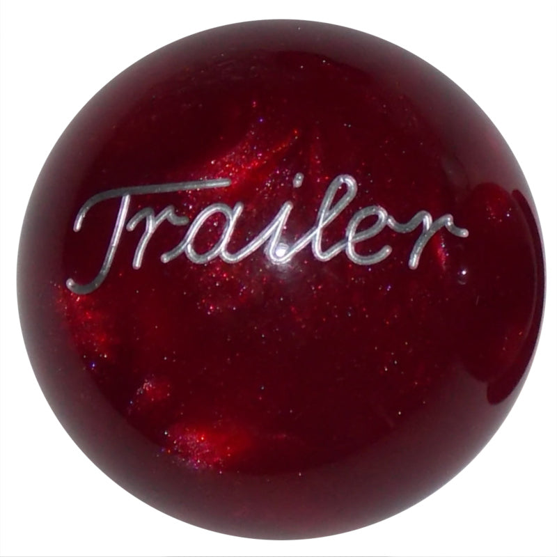 Pearl Red Trailer Brake Knob