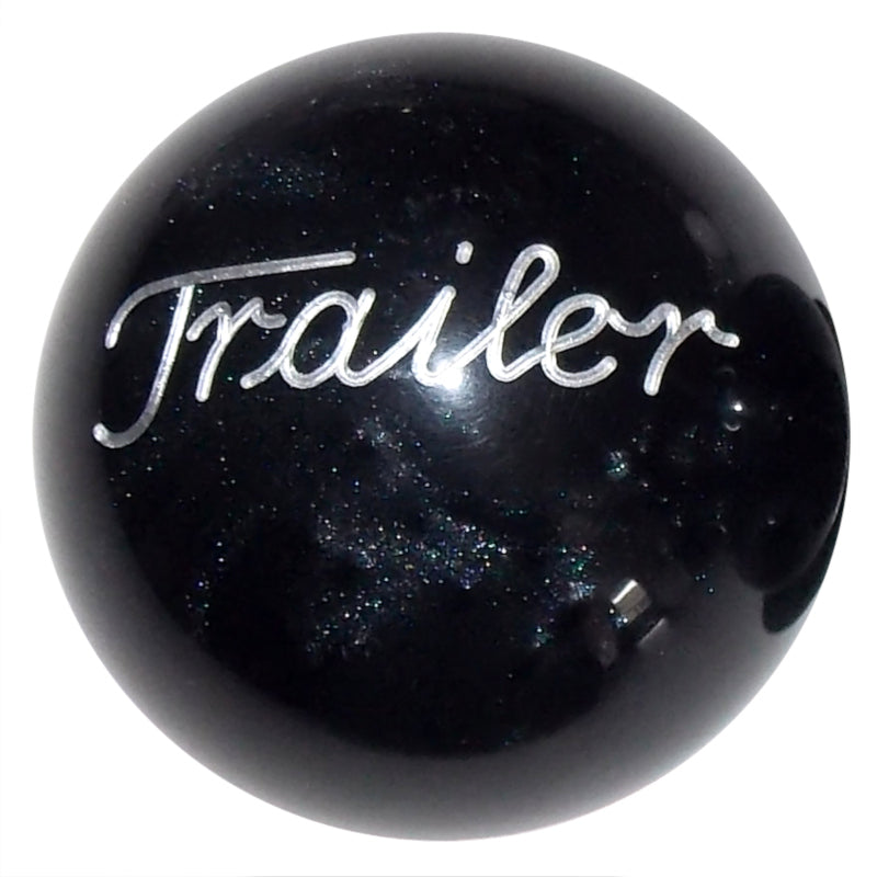Pearl Black Trailer Brake Knob