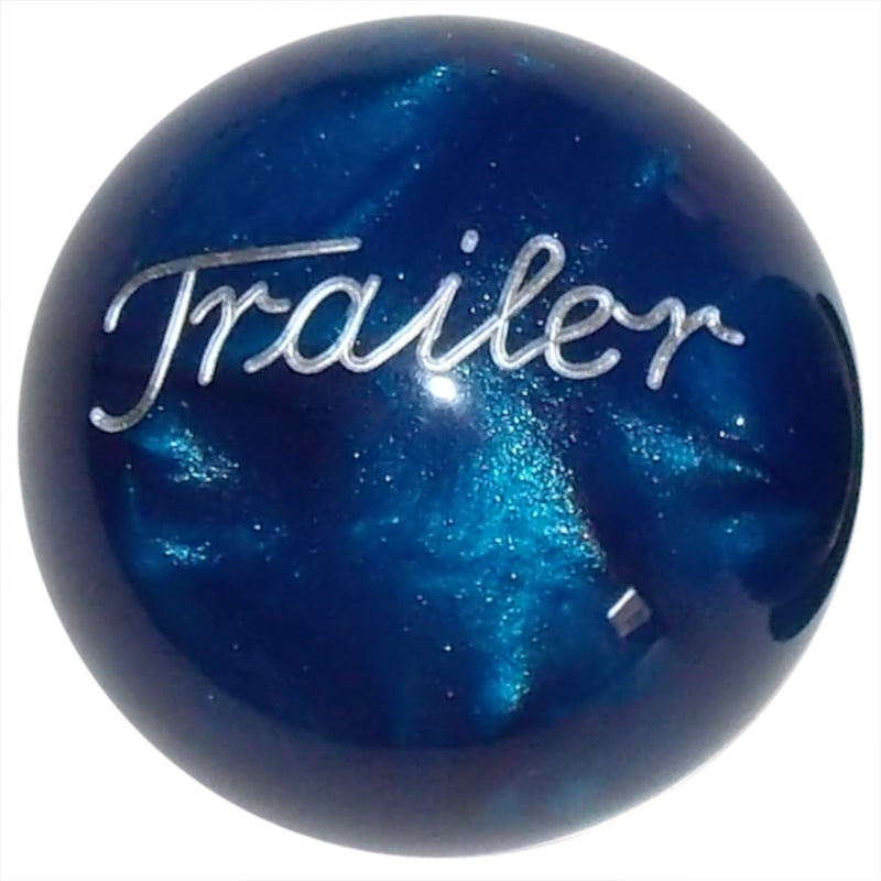 Pearl Blue Trailer Brake Knob