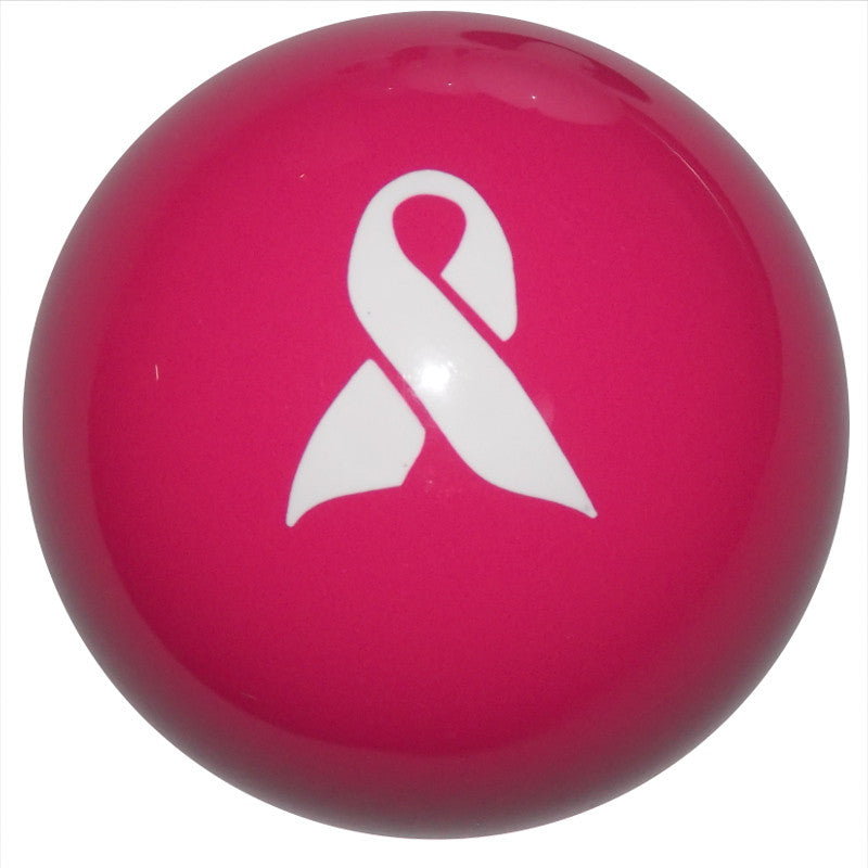 Pink Ribbon Awareness Hot Pink Brake Knob