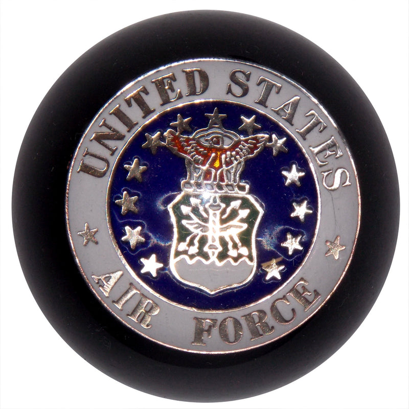 Black U.S. Air Force Shift Knob