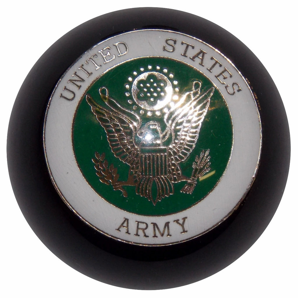 Black U.S. Army Shift Knob
