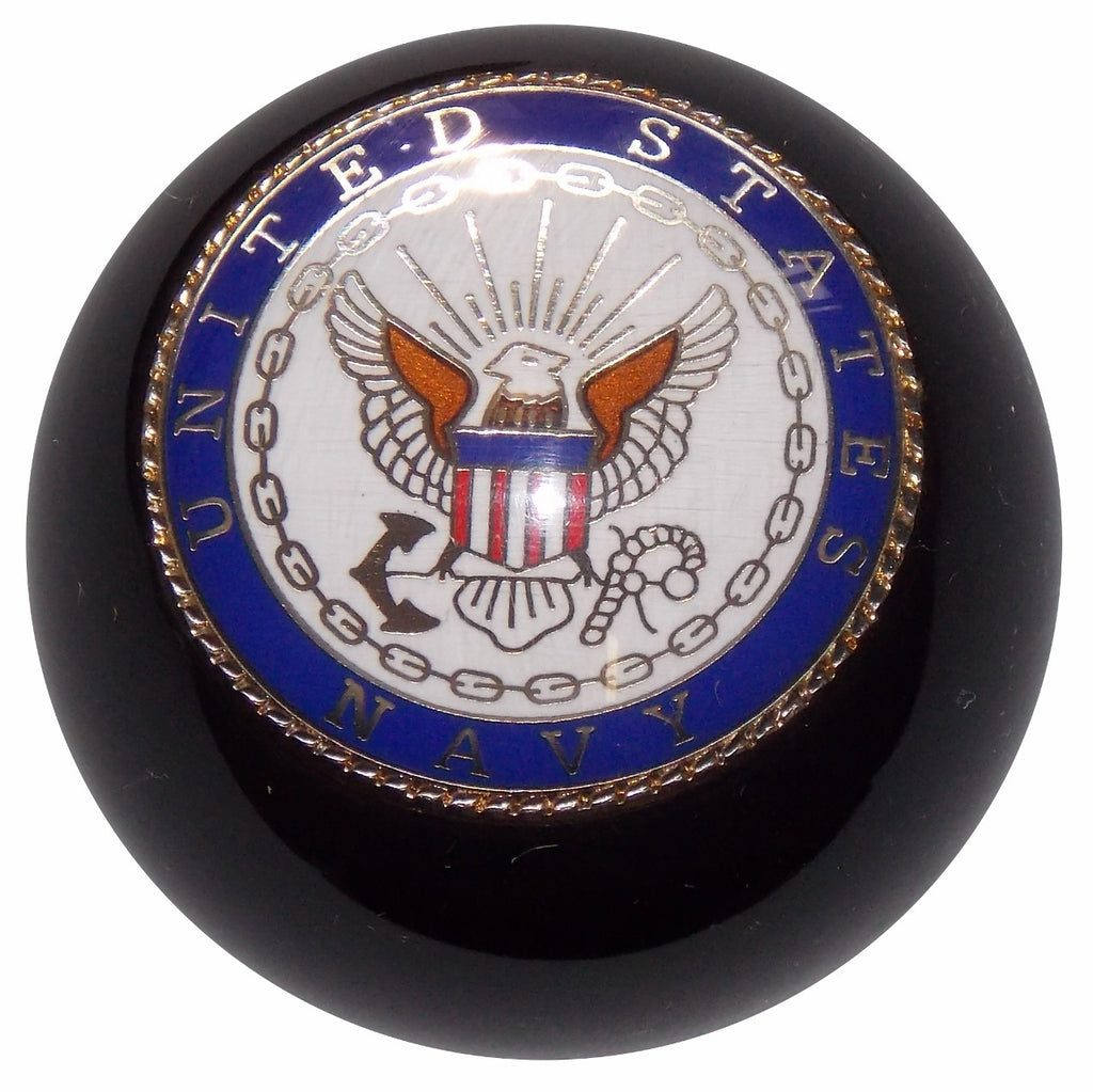 Black United States Navy Shift Knob