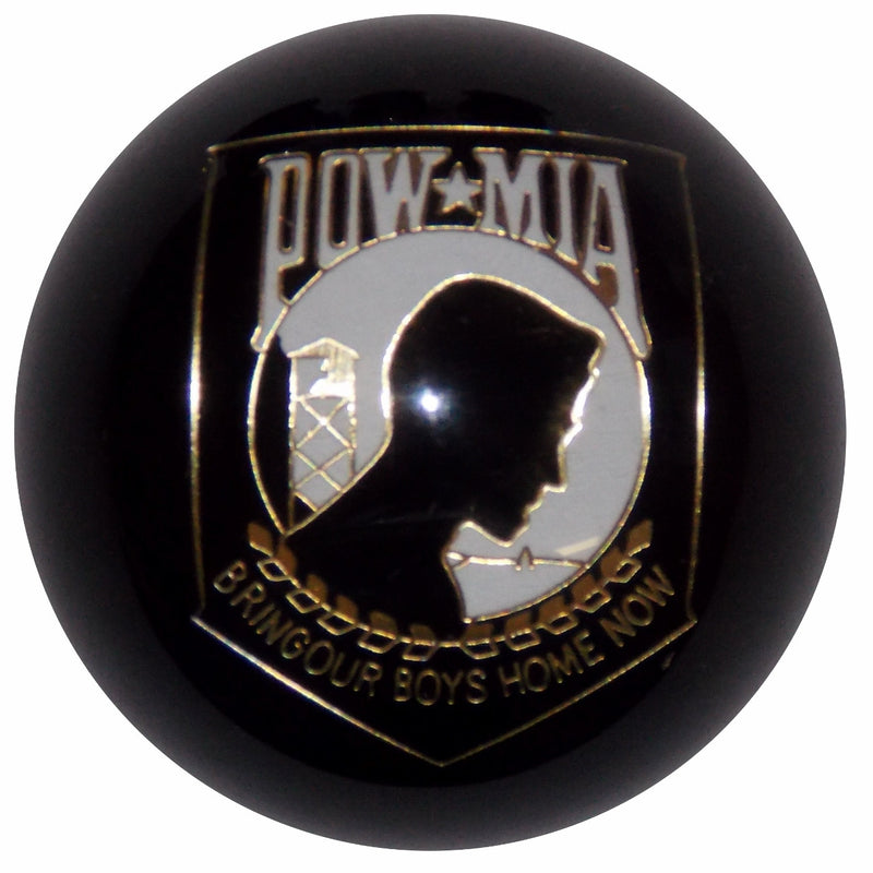 Black POW/MIA Shift Knob