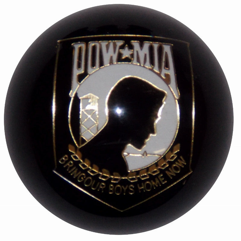 Black POW/MIA Brake Knob