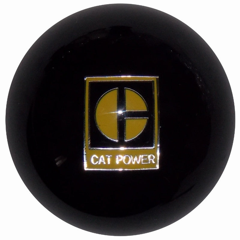 Black Caterpillar CAT Power Brake Knob