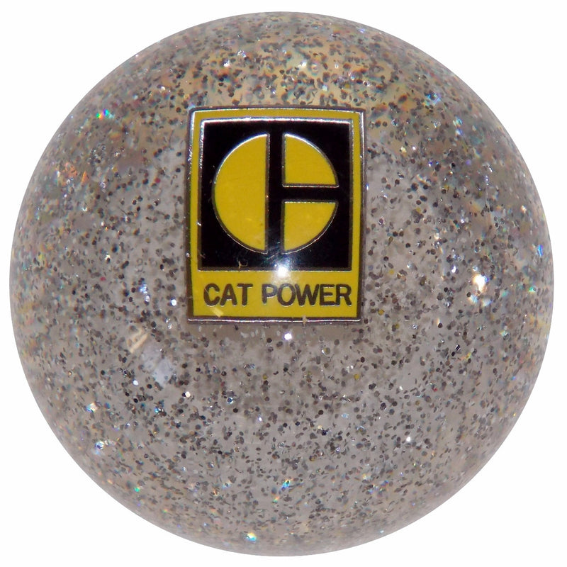 Clear Glitter CAT Power Shift Knob