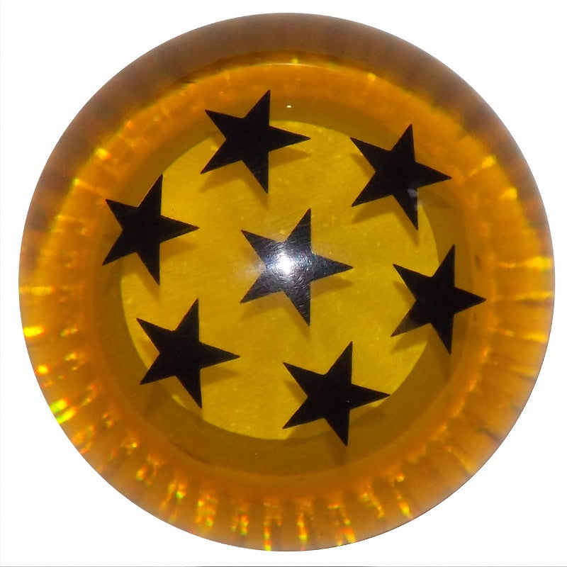 Dragon Ball Amber w/Black Stars Shift Knob
