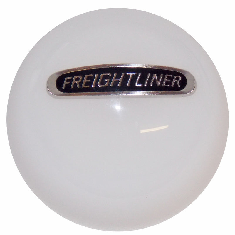 Freightliner White Shift Knob