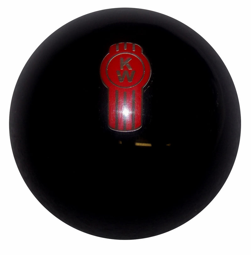 Solid Black Kenworth Shift Knob