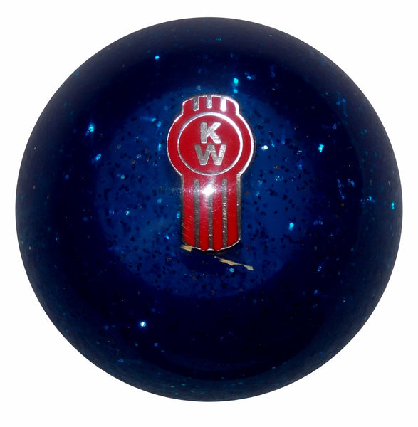 Blue Glitter Kenworth Shift Knob