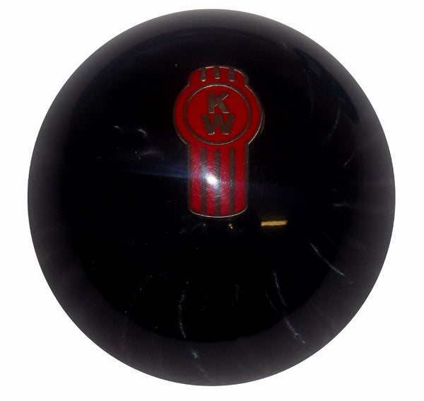 Black Pearl Kenworth Brake Knob