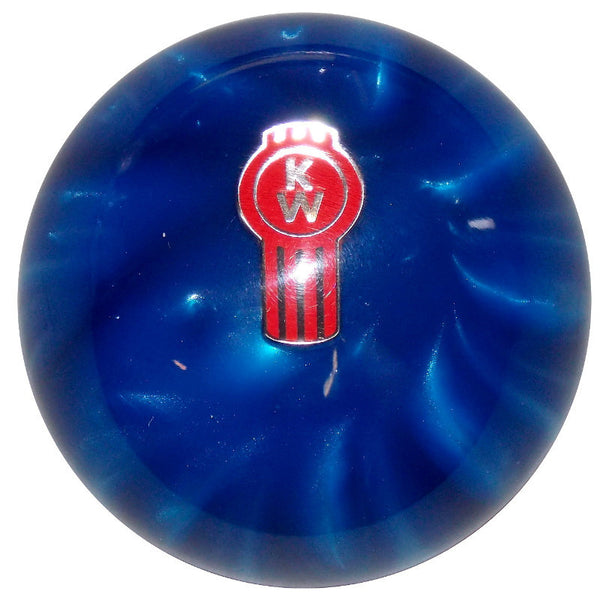 Pearl Blue Kenworth Brake Knob