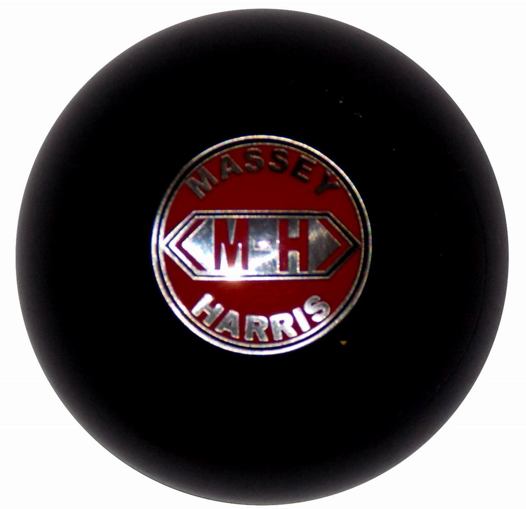 Massey Harris Emblem Black Shift Knob