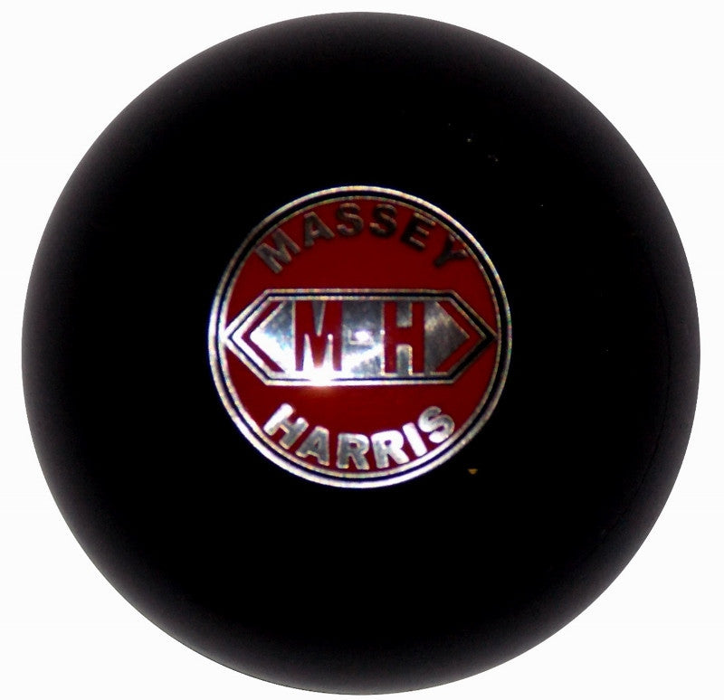Massey Harris Emblem Black Brake Knob