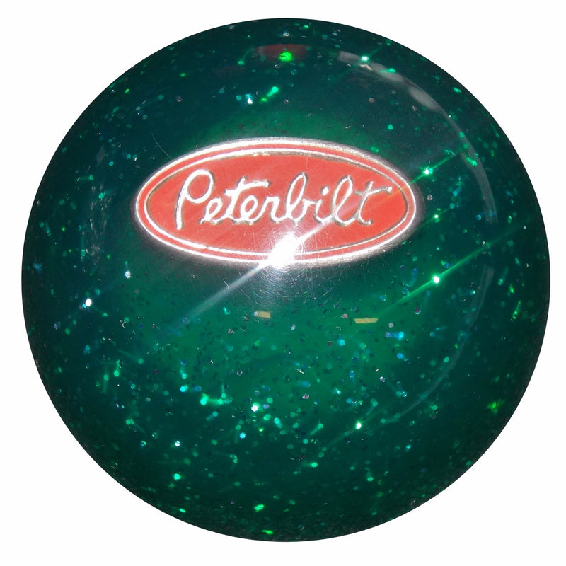 Green Glitter Peterbilt Shift Knob