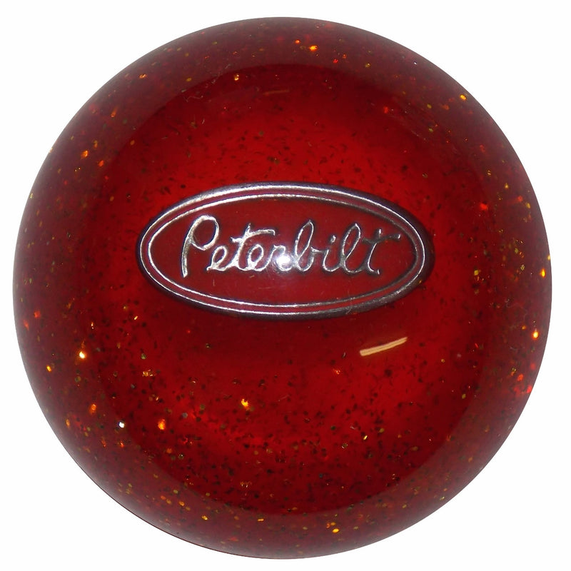 Orange Glitter Peterbilt Shift Knob