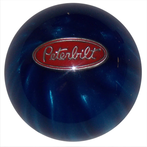 Blue Pearl Peterbilt Brake Knob