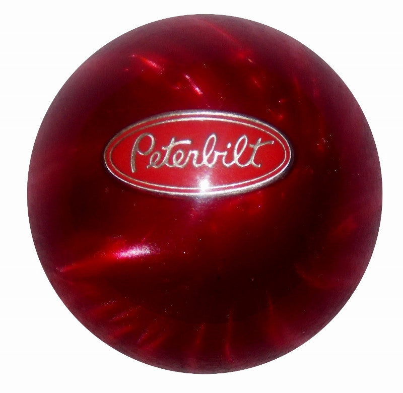 Red Pearl Peterbilt Brake Knob
