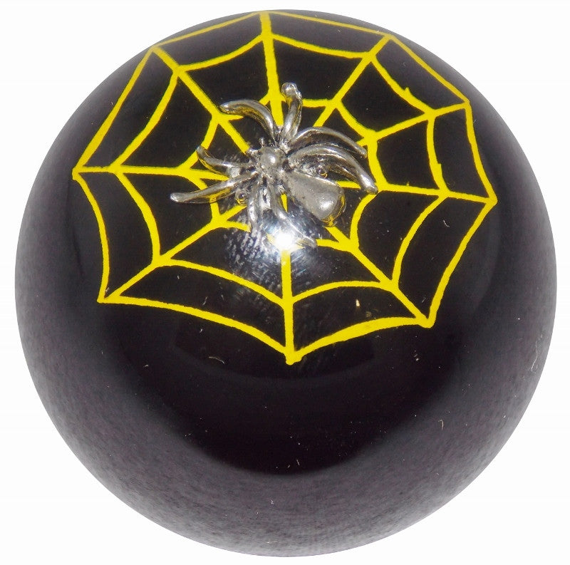 Black Spider n Web Shift Knob