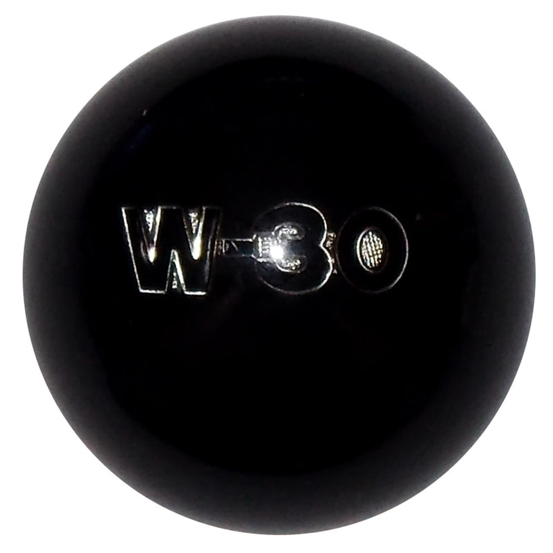 Black Oldsmobile W30 Emblem Shift Knob