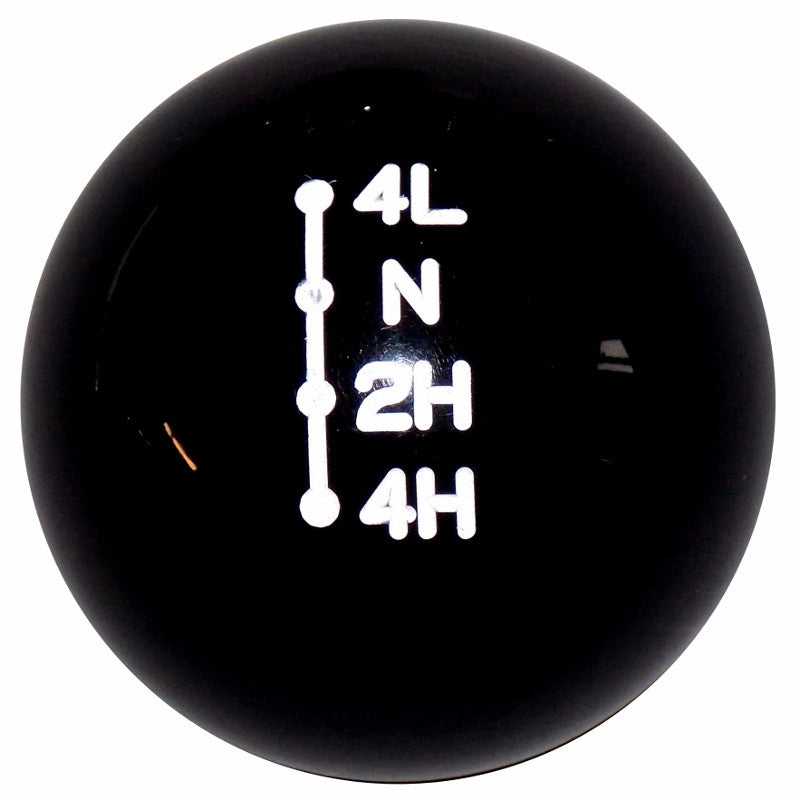 Black Dodge Ram Style Transfer Case Shift Knob