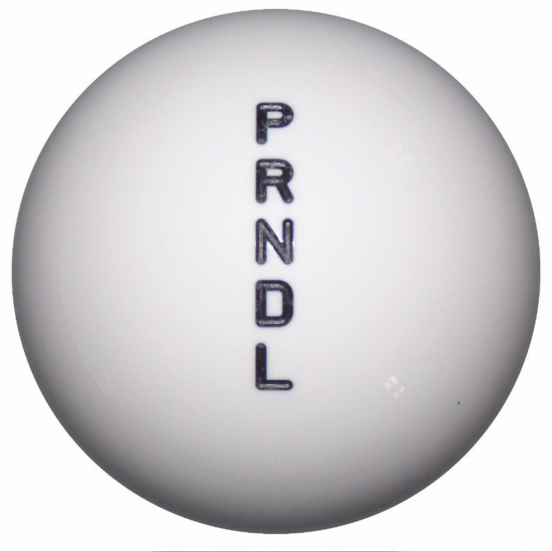 Round White Automatic DL Shift Knob