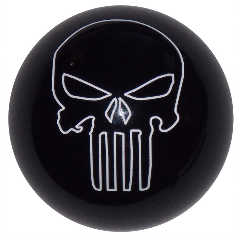 Punisher Skull Black Brake Knob