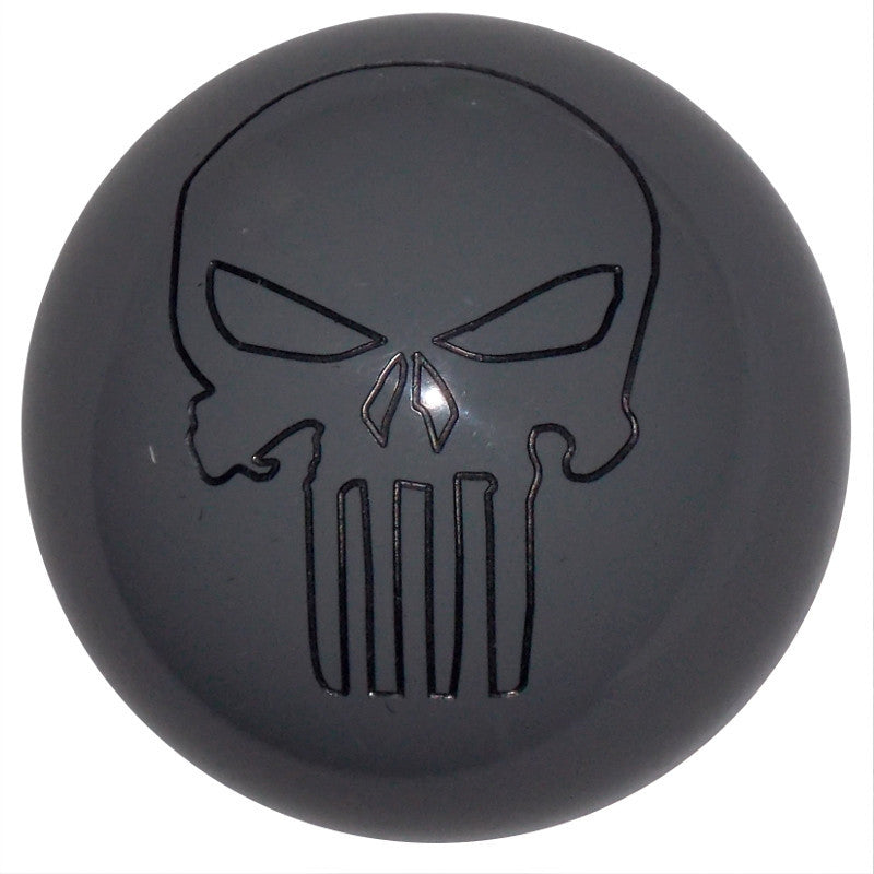 Punisher Skull Gray Brake Knob