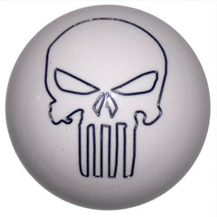 Punisher Skull White Shift Knob